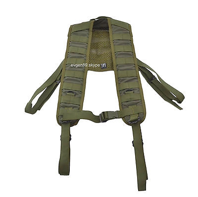 SSO / SPOSN Tactical Shoulder Straps PLSE Mounting Smersh Olive Russian Army