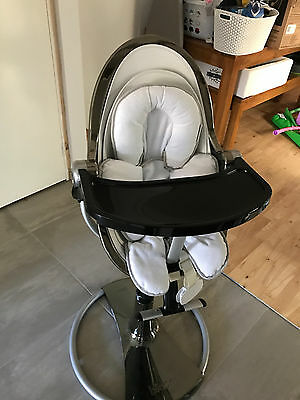 Fresco Bloom High Chair/baby/toddler/highchair/chrome/leather/newborn