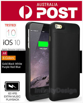6800mAh Battery Case External Power bank Charger Charging Cover For iPhone 6 6s
