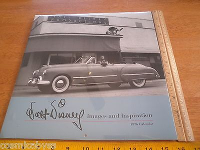 Walt Disney 1996 Images and Inspiration calendar Sealed Disneyland art