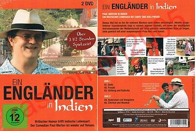 DVD PAUL MERTON IN INDIA 2008 COMPLETE TV SERIES 5 EPISODES BBC Region 2 PAL NEW