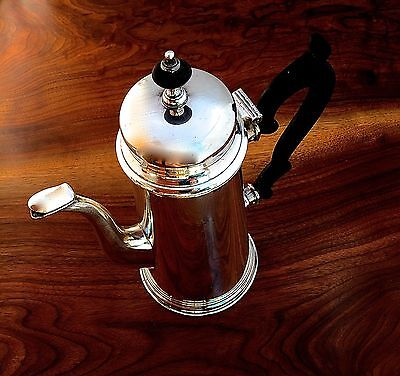 Lebolt & Co 20thC Georgian Style Sterling Silver Coffee Pot No Monograms