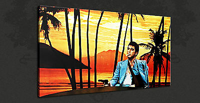 2de29d0f646 Tony Montana Scarface Iconin Movie Wall Art Canvas Print Picture Ready To  Hang