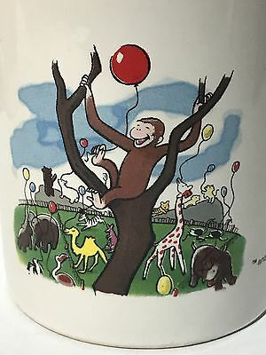 CURIOUS GEORGE COFFEE TEA MUG CUP Balloon at the Zoo