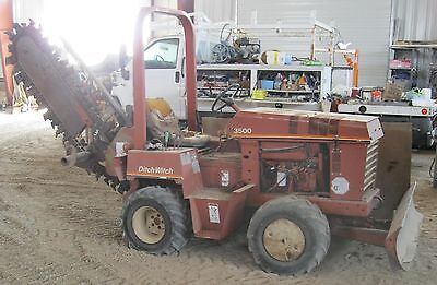 Ditchwitch Trencher, 3500DD