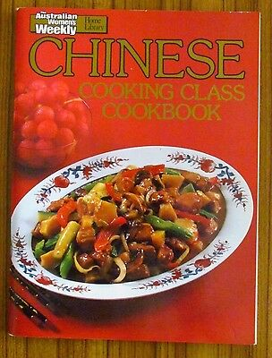 Women's Weekly Recipe Book - Chinese Cooking Class Cookbook Asian