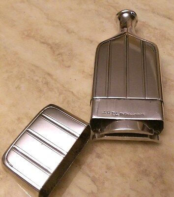 GILLETTE STERLING SILVER CANTEEN TRAVELER SET RAZOR , 1920's