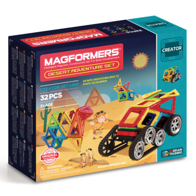 NEW Magformers - Desert Adventure Set Kids Childrens Toys
