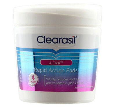 Clearasil Ultra Rapid Action Pads x 65 (Choose Your Option)