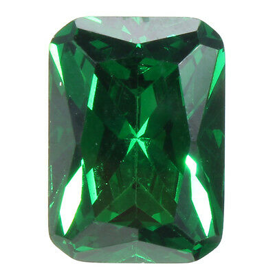 9.08CT 10X14MM Emeraude Splendide Bijoux Naturelle Elégant