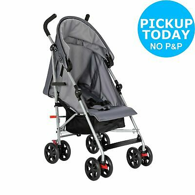 Cuggl Hazel Multi-Position Foldable Pushchair - Grey