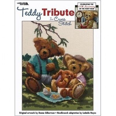 Teddy Tribute Cross Stitch Chart