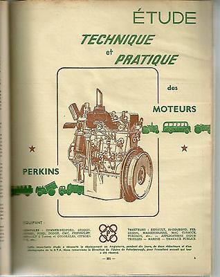 Revue Technique Automobile 108 Rta 1955 Moteurs Perkins P3 P4 P6