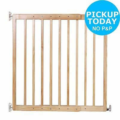 Cuggl Wooden 2 Way Opening Double Locking Extending Gate.