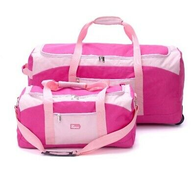 Go Explore XL Wheeled Holdall and Small Handheld Bag.