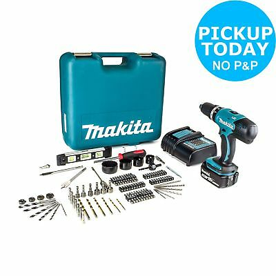 Makita LXT 18V 3Ah Cordless Combi Drill with 101 Accessories.