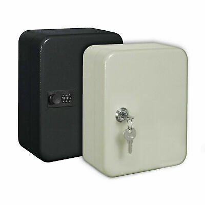 Metal 20 Combination Lock 20 Key Cabinet Wall Mounted Safe Security Storage Box