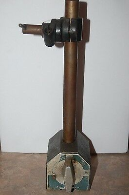 Vintage Brown and Sharpe Magnetic Base Indicator Stand