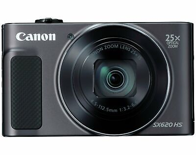 Canon PowerShot SX620 HS 20MP 1080p 3 Inch LCD 25x Zoom Camera Bundle