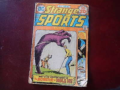 """Strange Sports Stories #6 Comic Book DC Comics """"The Monster in Hole 18"""""""