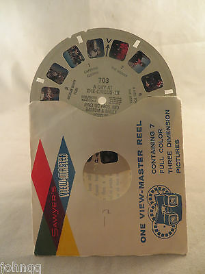 View-Master Reel 703, A Day At The Circus I,  Single Reel