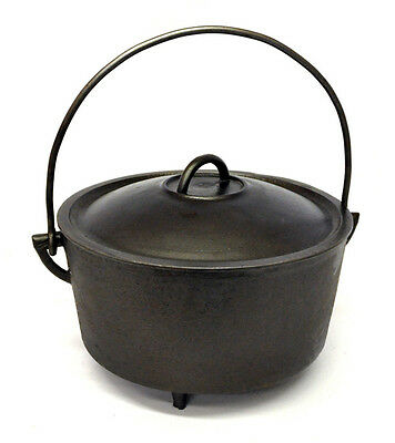 Cast Iron Dutch Oven 3 Leg Cooking Pot