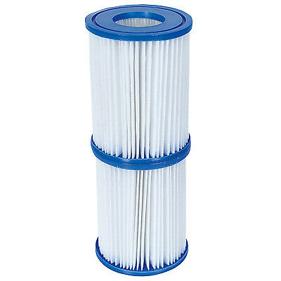 Bestway Swimming Pool Hot Tub Spa Pump Replacement Filter Cartridges - Size II
