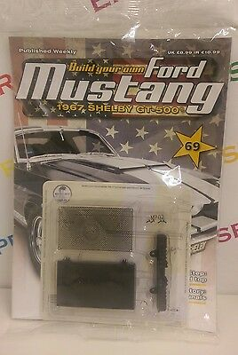 deagostini build your own ford mustang 1967 shelby gt 500 mag parts issue 69. Black Bedroom Furniture Sets. Home Design Ideas