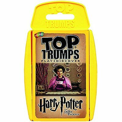 WM - Top Trumps - Harry Potter and the Order of the Phoenix Card Game