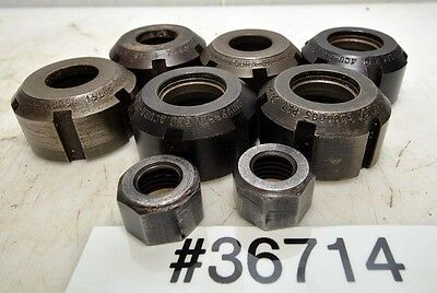 1 Lot of Universal Eng. Acura Flex Lock Nuts (Inv.36714)