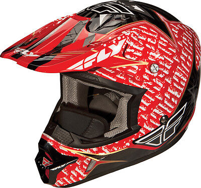 Fly Racing Aurora Snow Adult Cold Weather MX Helmet [Red,Small]