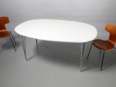 Fritz Hansen B612 Superellipse Tisch Arne Jacobsen Piet Hein incl 19% MwSt Table
