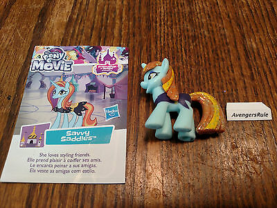 My Little Pony Wave 21 Friendship is Magic Movie Collection Savvy Saddles