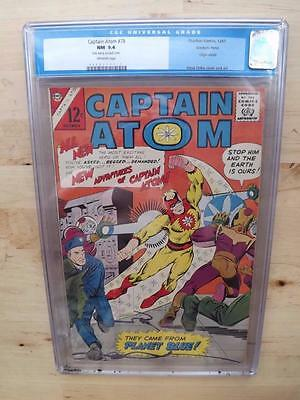 Captain Atom #78 (1965) Off White Pages! Ditko Cover Origin Issue Free Postage !