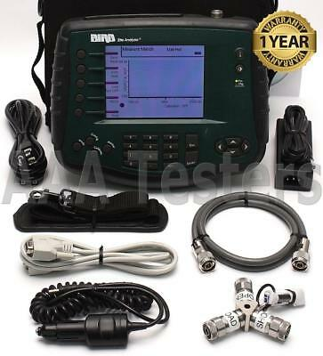 BIRD SA-2500EX Cable Antenna Site Analyzer Open/Short/Load SA-2500 SA 2500