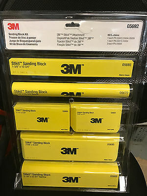 3M Sanding Block Kit 05692 Brand New