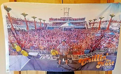 2016 Kid Rock 7th Chillin the Most cruise flag banner mancave flag Huge 3x5 ft