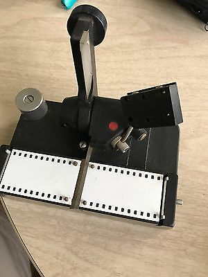 35mm Film Editing Splicer for Projector Steenbeck Reel Negative Guillotine MINT