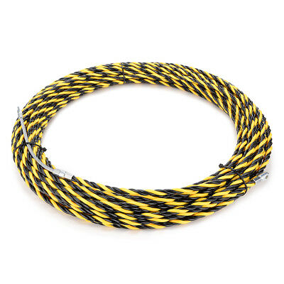 82 Feet (25M) Polyester Fish Tape Dia 0.24in (6mm) Electrical Wire Threader