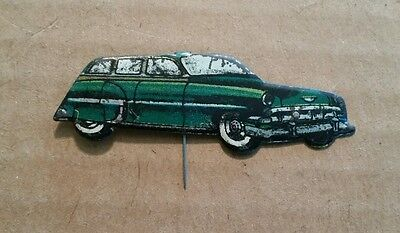 Chevrolet,Vintage Tin Pin,Made in W.Germany,1950's