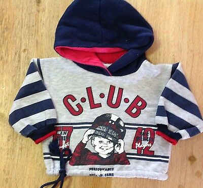 Ladybird Baby Boys Size 0 Hoodie Jacket Grey As New ⭐️