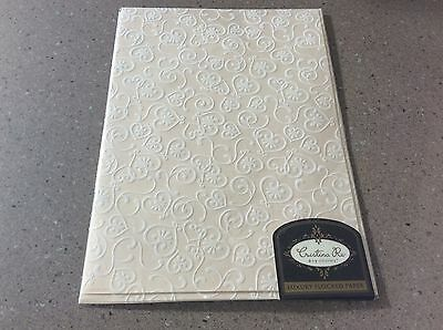 Cristina Re Luxury Flocked Paper