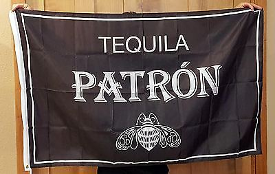 New Patron Tequila Racing Team 3x5 ft Flag Advertising Banner