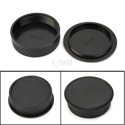 Hot for M42 42mm Screw Mount Camera Rear Lens and Body Cap Cover Set 1 Pairs US