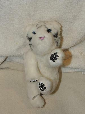 "Wowwee Plush Interactive Newborn White Siberian Tiger Cub 9"" with Sounds"
