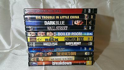 Action & Drama Dvd Lot: New And Used