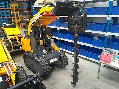 Direct Drive Auger Motor 1000mm rated suits mini diggers such dingo kanga toro