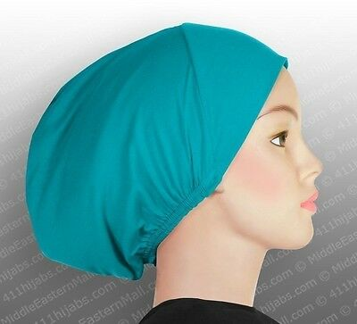 USA Seller Chemo Cap Hats Scarf Hair Loss Head Cover Women Basics # 8 Turquoise