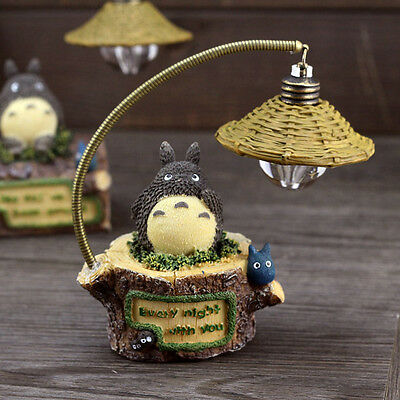 ToToRo My Neighbor Studio Ghibli Figure Room Lamp Light Kawaii Birthday Gift #A