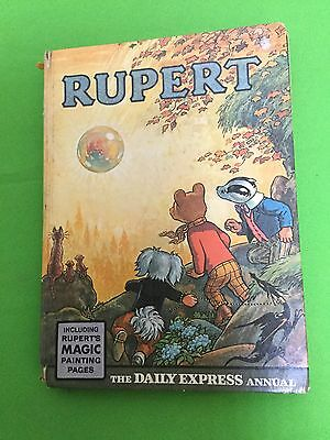 Rupert Bear Annual 1968  Unclipped